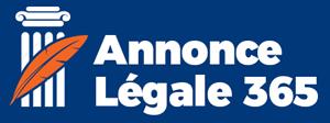Publication d'annonce légale en ligne